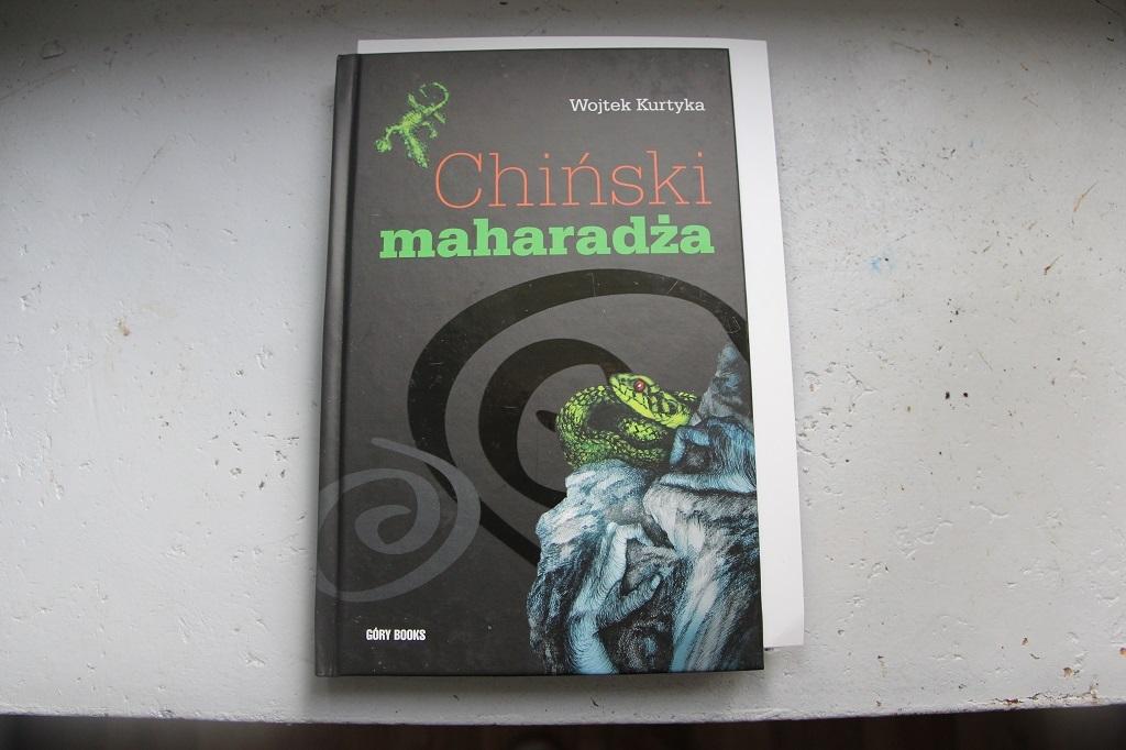 """Książka """"Chiński macharadża"""" Wojtek Kurtyka"""
