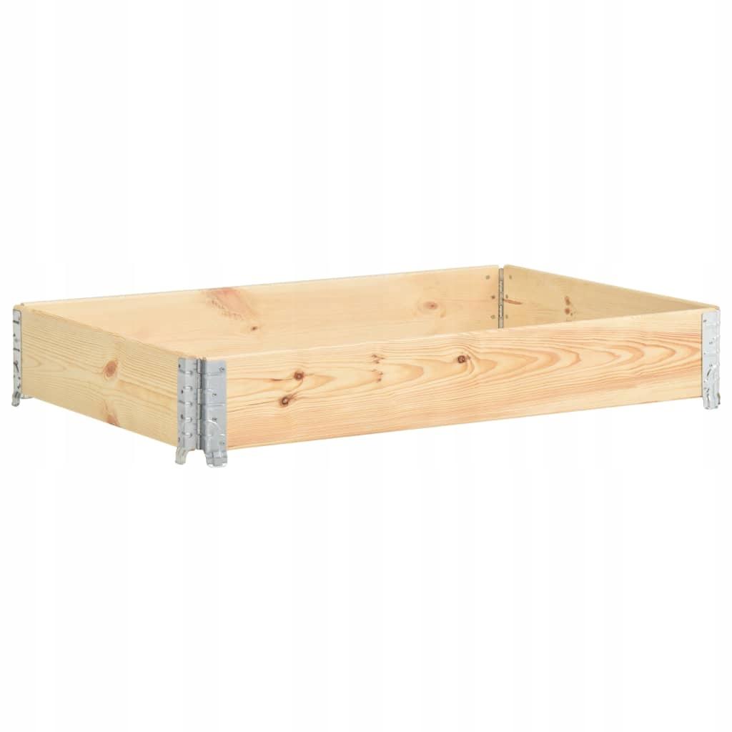 Nadstawka paletowa, 50x150 cm, lite drewno sosnowe