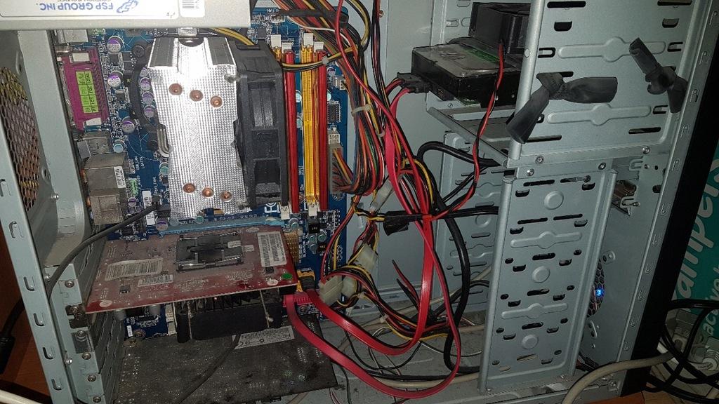 Komputer Q6600 4GB 500GB 2600Pro Audigy2