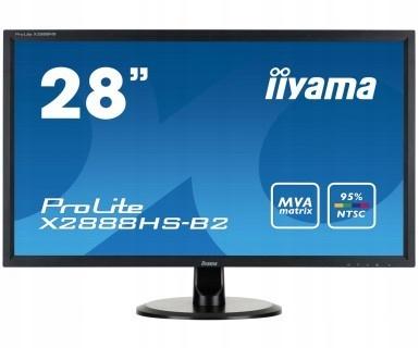 Monitor 28 X2888HS-B2 MVA,FLICKERFREE,SPEAKERS