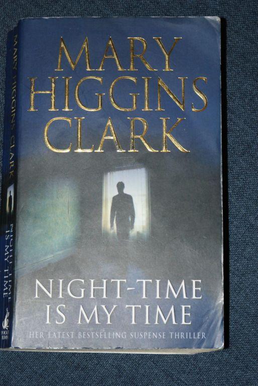 "Książka ""Night-time is my time"" Mary Higgins Clark"