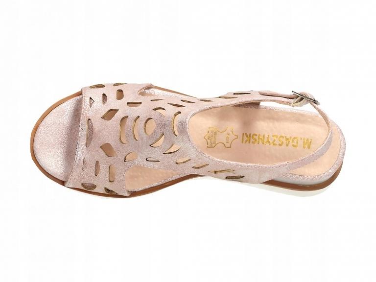 Różowe sandały damskie M.DASZYŃSKI 1838 4 r37