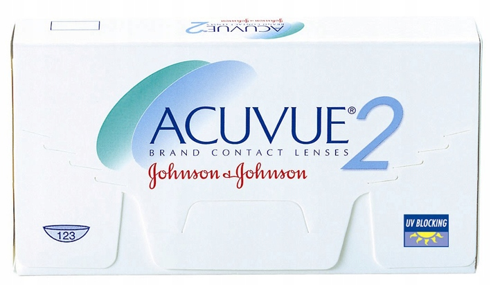 Soczewki kontaktowe Acuvue 2 8.7 moc: -4.00 6 szt.