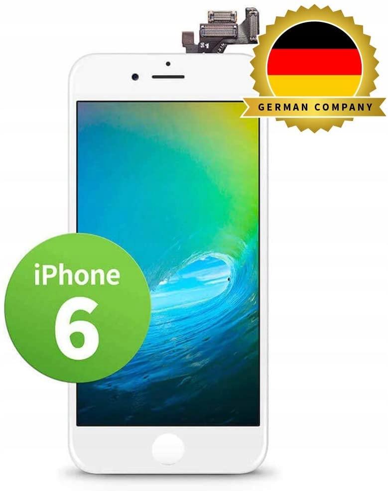 Ekran Wyświetlacz LCD GIGA Fixxoo iPhone 6 biały