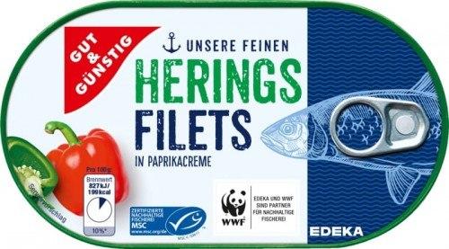 G&G Filety śledziowe w sosie paprykowym 200 g