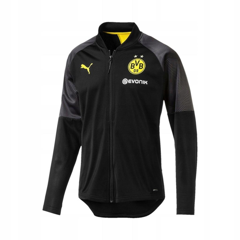 Puma BVB Borussia Dortmund kurtka męska rozm L