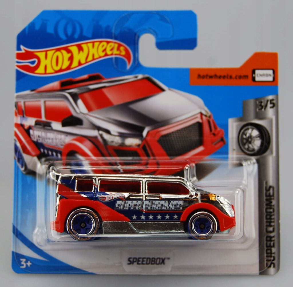 Hot Wheels-samochodzik Speedbox FYD53