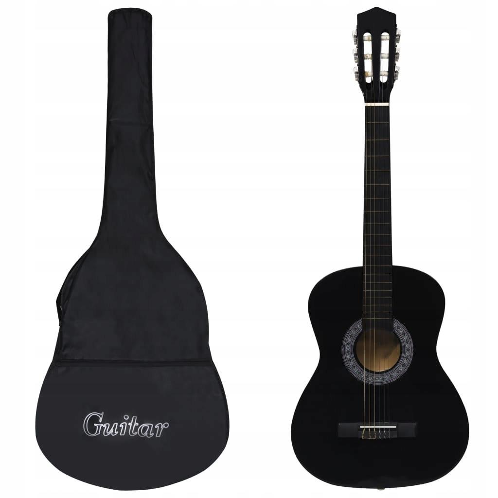 vidaXL Gitara klasyczna dla początkujących z