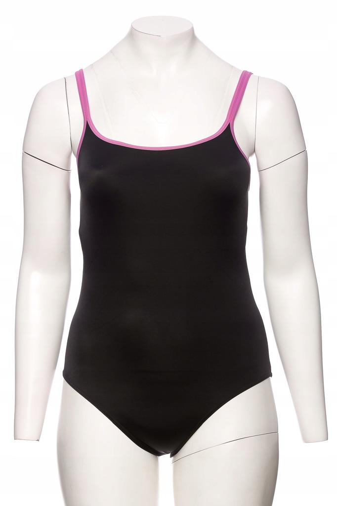 M&S czarny strój kąpielowy jednoczęściowy r.XL