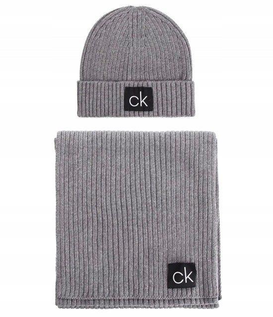 Zestaw szalik i czapka Calvin Klein K50K504107-013