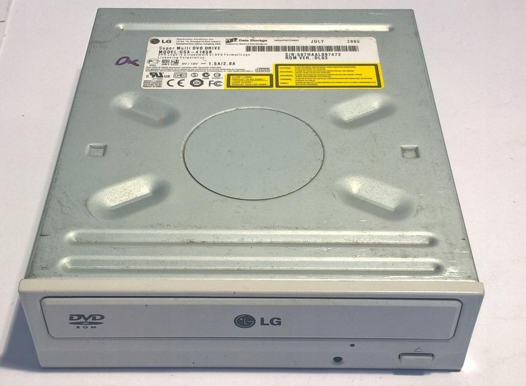 NAGRYWARKA DVDRW CDRW / LG HL GSA-4165B / IDE ATA