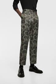 ZARA spodnie 44 wężowe versace valli h&m