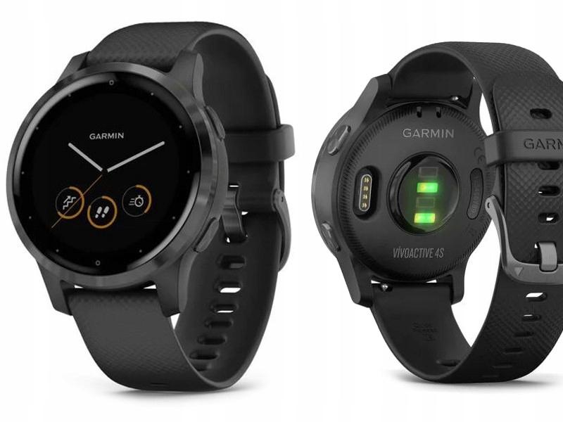 Garmin Vivoactive 4S Czarny Smartwatch GPS