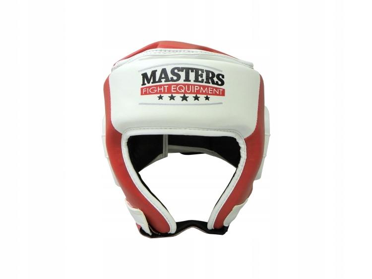 Kask bokserski ochronny turniejowy Masters r. XL