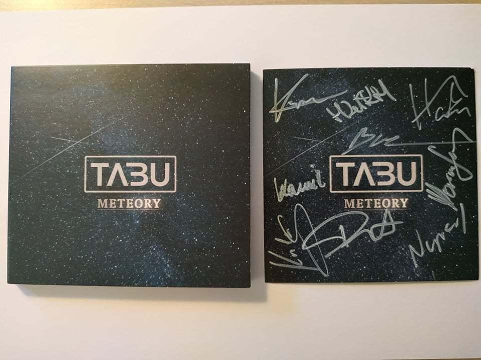 Płyta TABU - METEORY z autografami oraz pocztówką