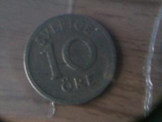 srebna moneta 10 ORE-SZWECJA.
