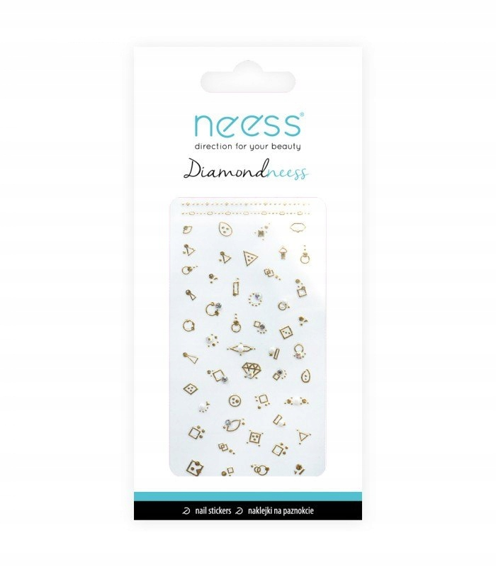 NEESS Naklejka na paznokcie Diamondneess (3711) 1s