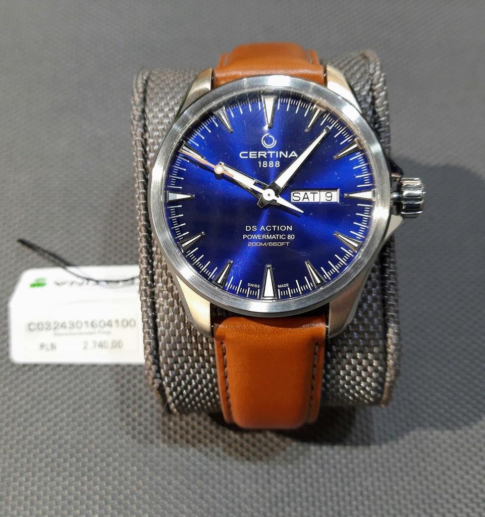 Zegarek Certina DS Action C032.430.16.041.00