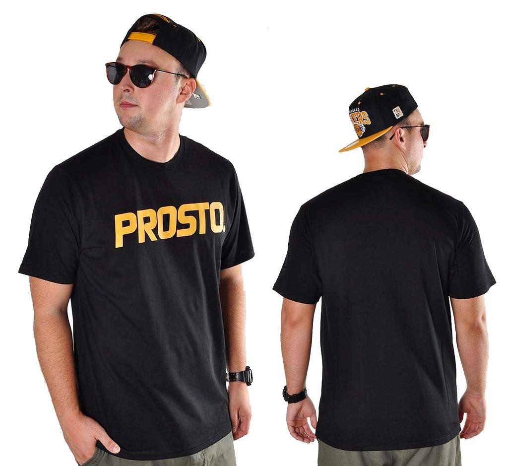 Koszulka M PROSTO KLASYK CLASSIC t-shirt czarna