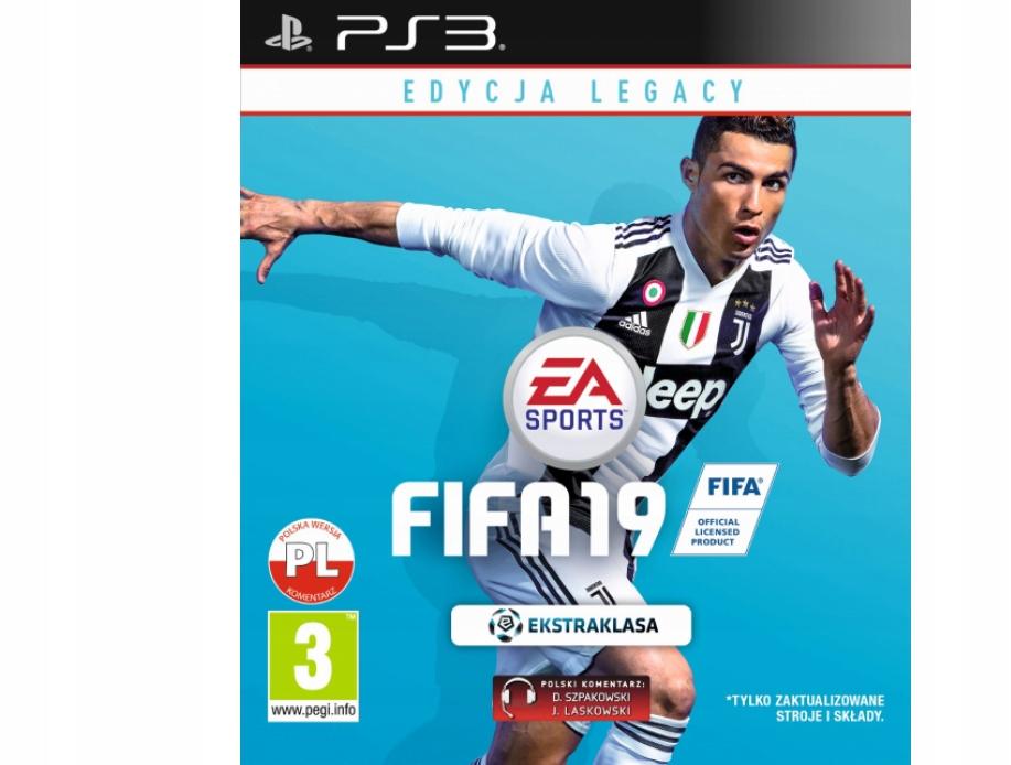 Fifa 19 Edycja Legacy Ps3 Playstation 3 7588117423 Oficjalne Archiwum Allegro