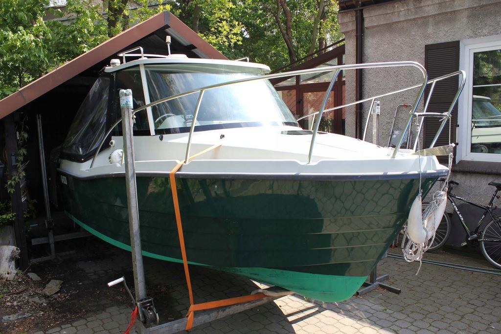 Łódz Funadventure 525 + silnik Tohatsu 90km.