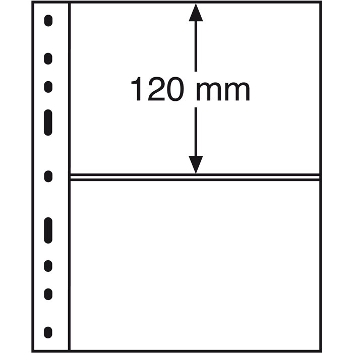 Karty OPTIMA SH252 - 2 C - banknoty - Leuchtturm