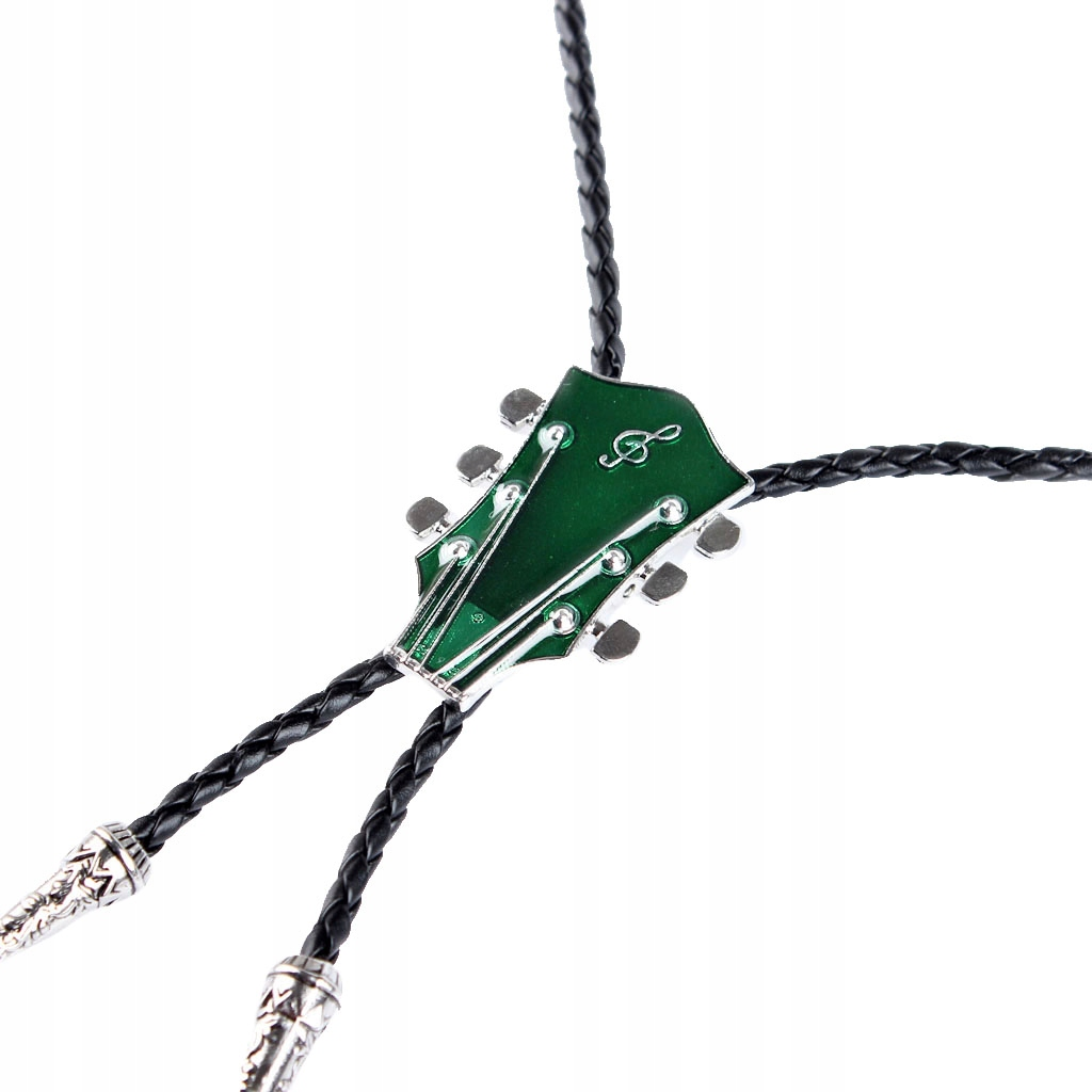 1 kawałek naszyjnika Bolo - Zielony
