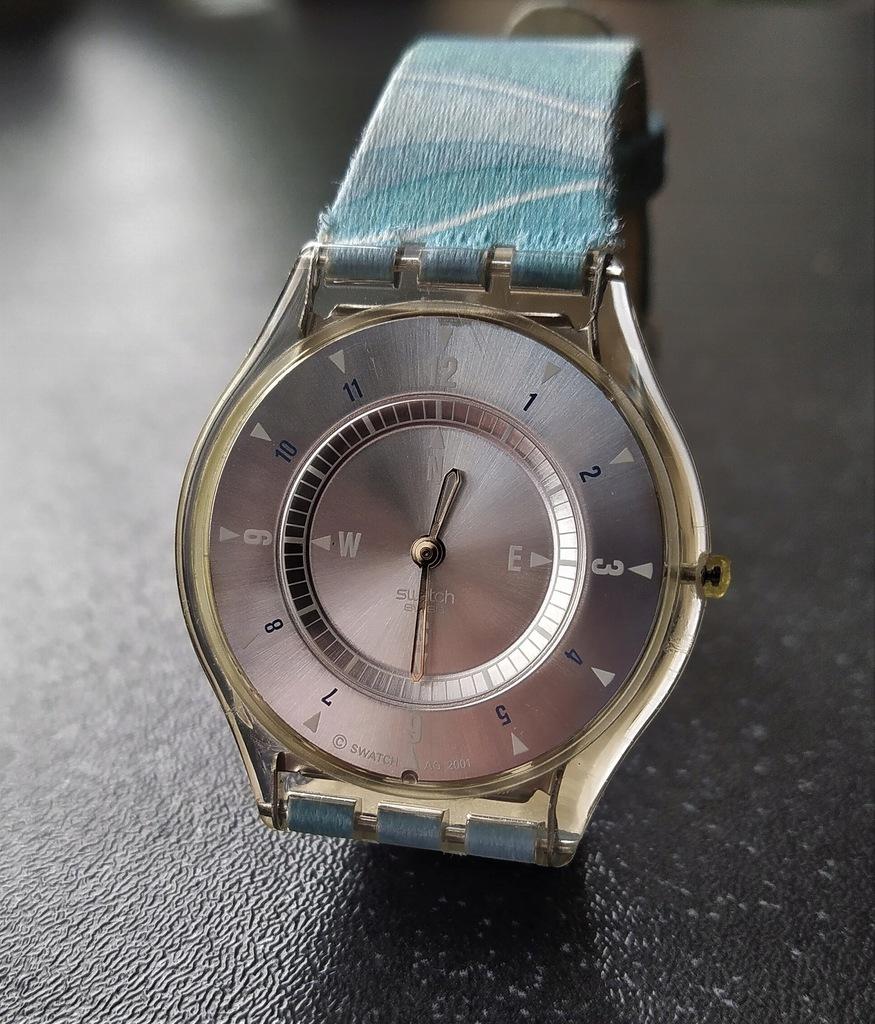Rzadki zegarek SWATCH Skin AG 2001 James Bond 007