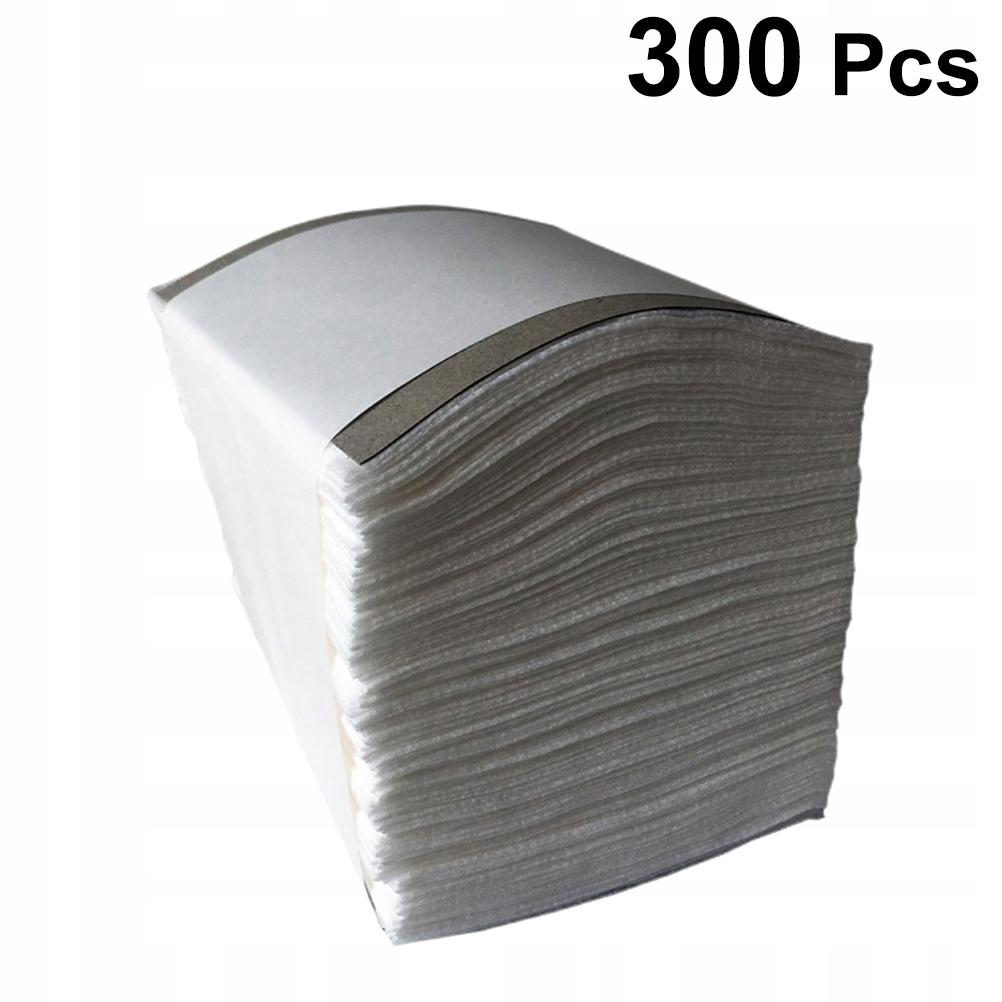 300 SZTUK Włókninowe arkusze Składany typ Podkładk