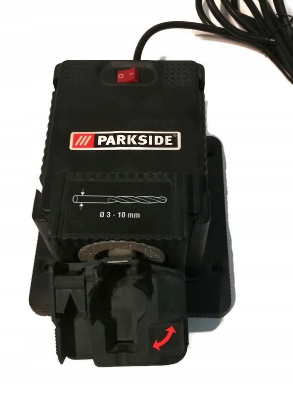 Parkside Pss 65 A1 Urzadzenie Do Ostrzenia Wiertel 9135499347 Oficjalne Archiwum Allegro