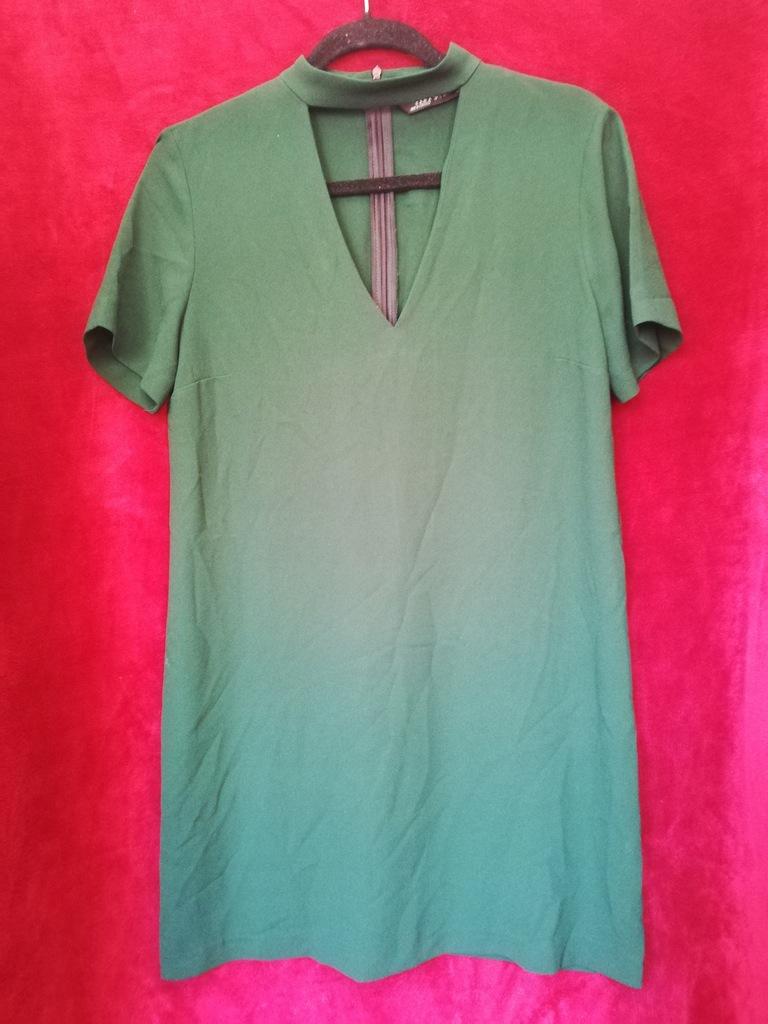 Zara sukienka z chokerem