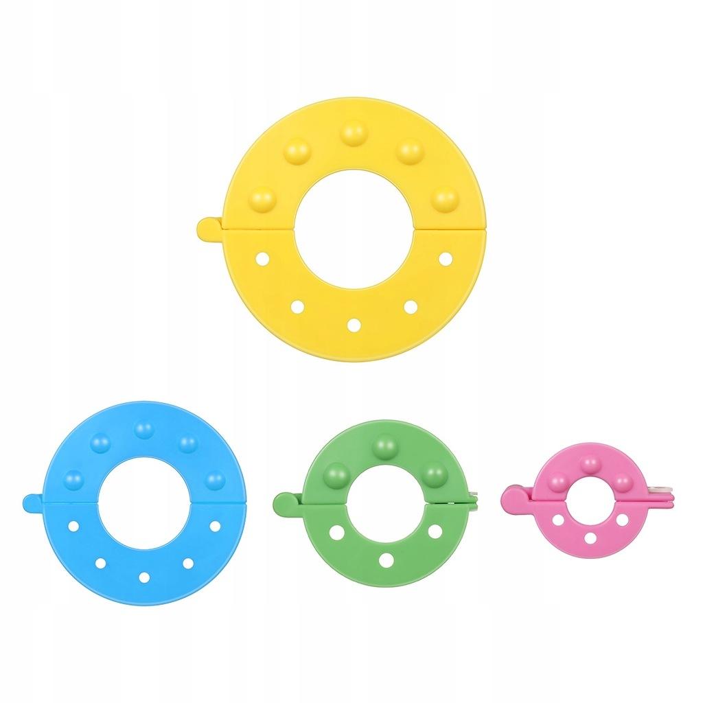 ULTNICE 8 sztuk 4 Rozmiary Niezbędne Pompom Maker