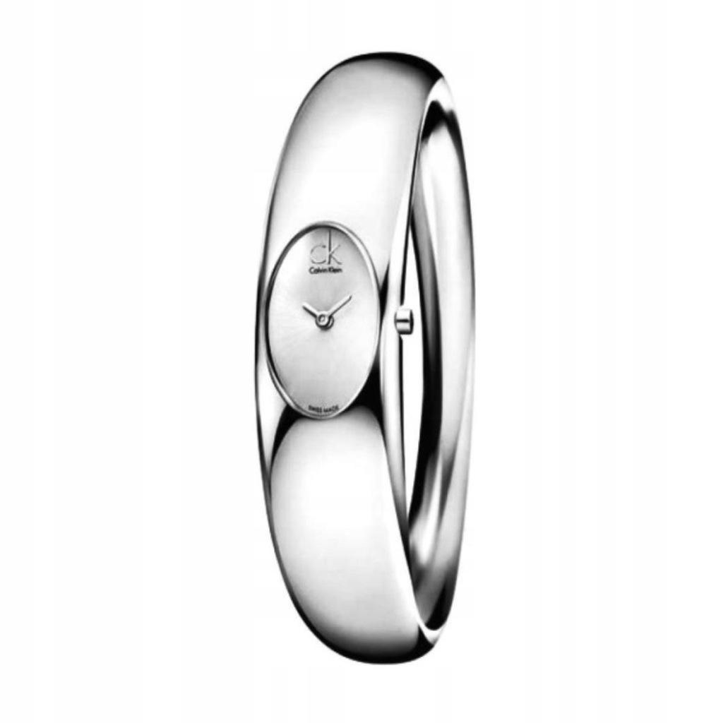 Calvin Klein zegarek damski szary