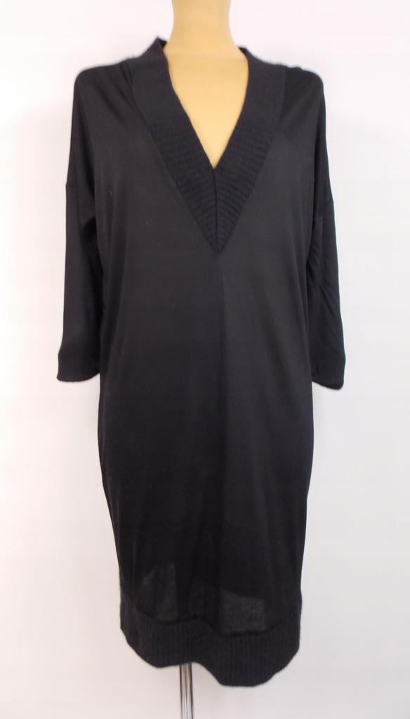 sukienka COS klasyczna czarna biuro ołówkowa 36