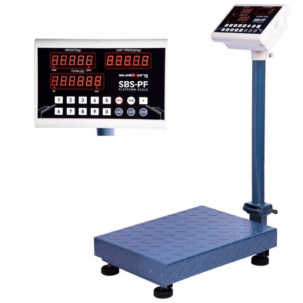 Waga platformowa składana SBS-PF-100A8 LED do 100k