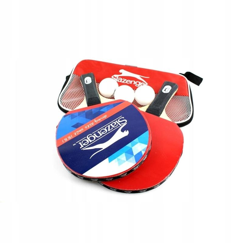 Slazenger - Markowy zestaw do ping ponga / tenisa