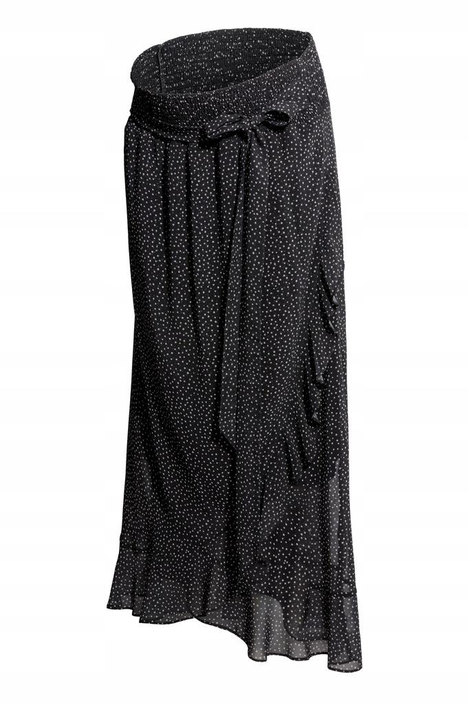 H&M MAMA spódnica ciążowa w kropki 38