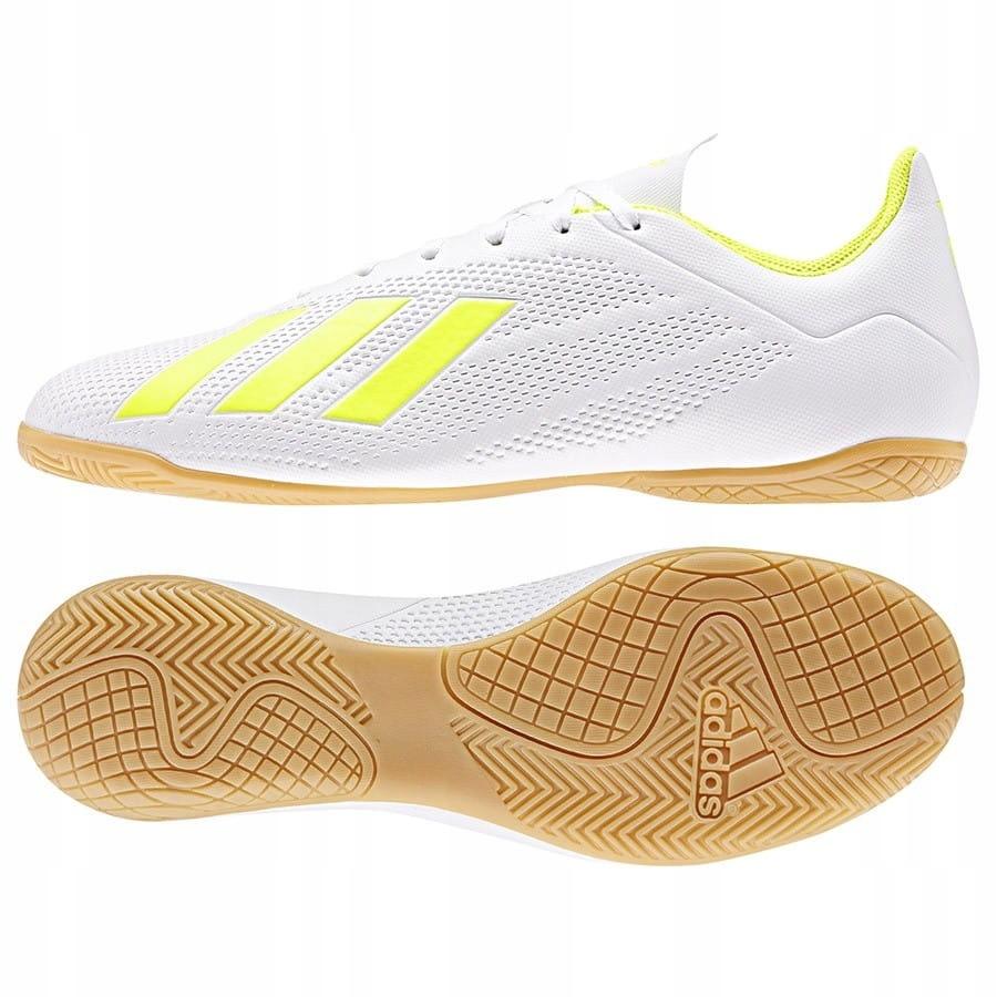 Buty adidas X 18.4 IN BB9407 - BIAŁY; 44