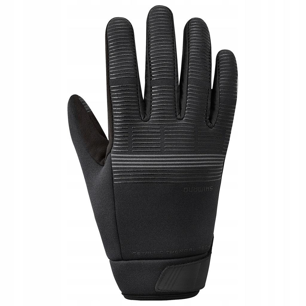 Rękawiczki zimowe Shimano Windbreak thermal cza L