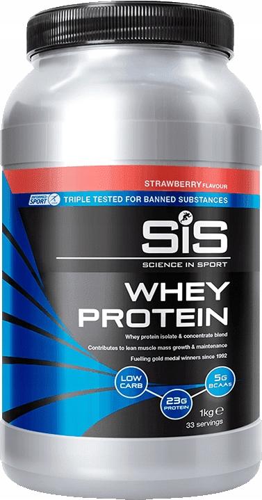 Odżywka Białkowa Białko SIS 1 kg TRUSKAWKA
