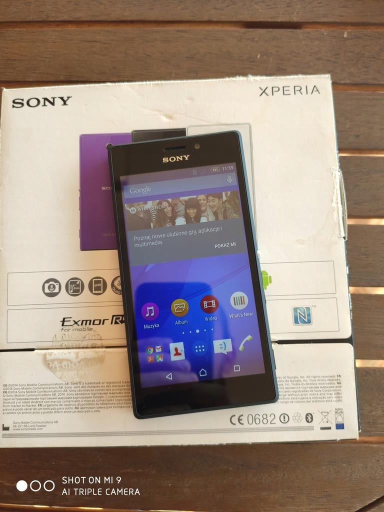 Smartfon Sony Xperia M2 czarny 8 GB