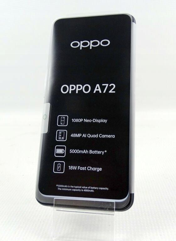 TELEFON OPPO A72 GWARANCJA (FV 09.10.20) KOMPLET