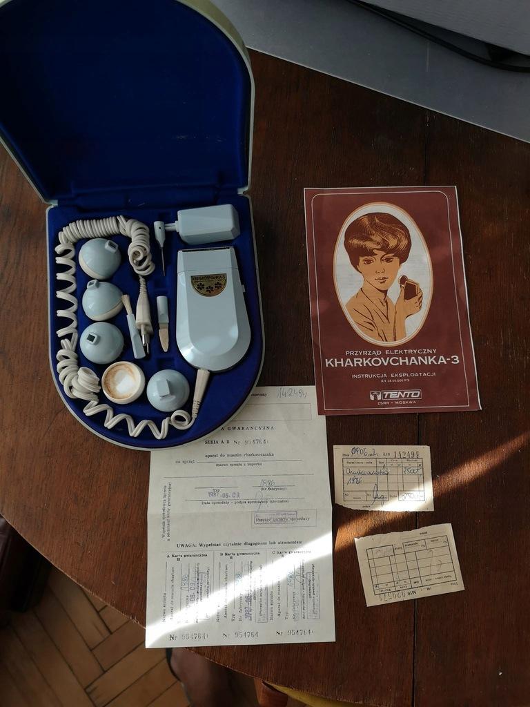 Aparat Do Masazu Charkowczanka Prl 1987 8428424496 Oficjalne Archiwum Allegro