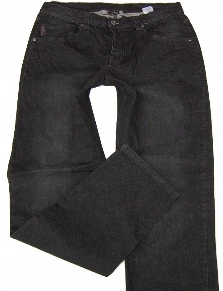 1i84 jeansy męskie NOWE RAINBOW 36/33 34 PAS 92