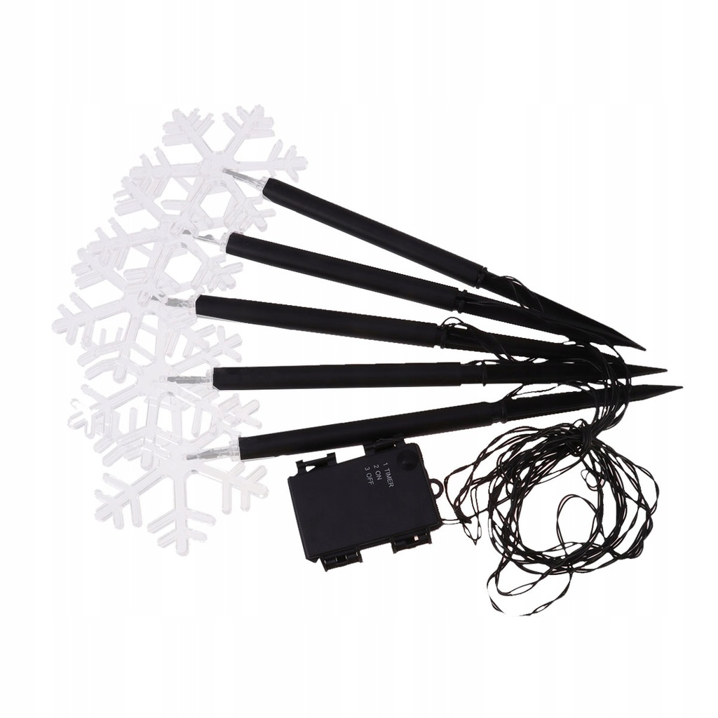 LED Acrylic Outdoor Garden String Stake Light Chri