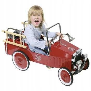 Samochód na pedały dla dzieci Wóz strażacki