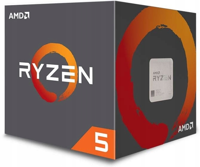 AMD RYZEN 5 2600 6 RDZENI 3,4-3,9GHz AM4 65W OC