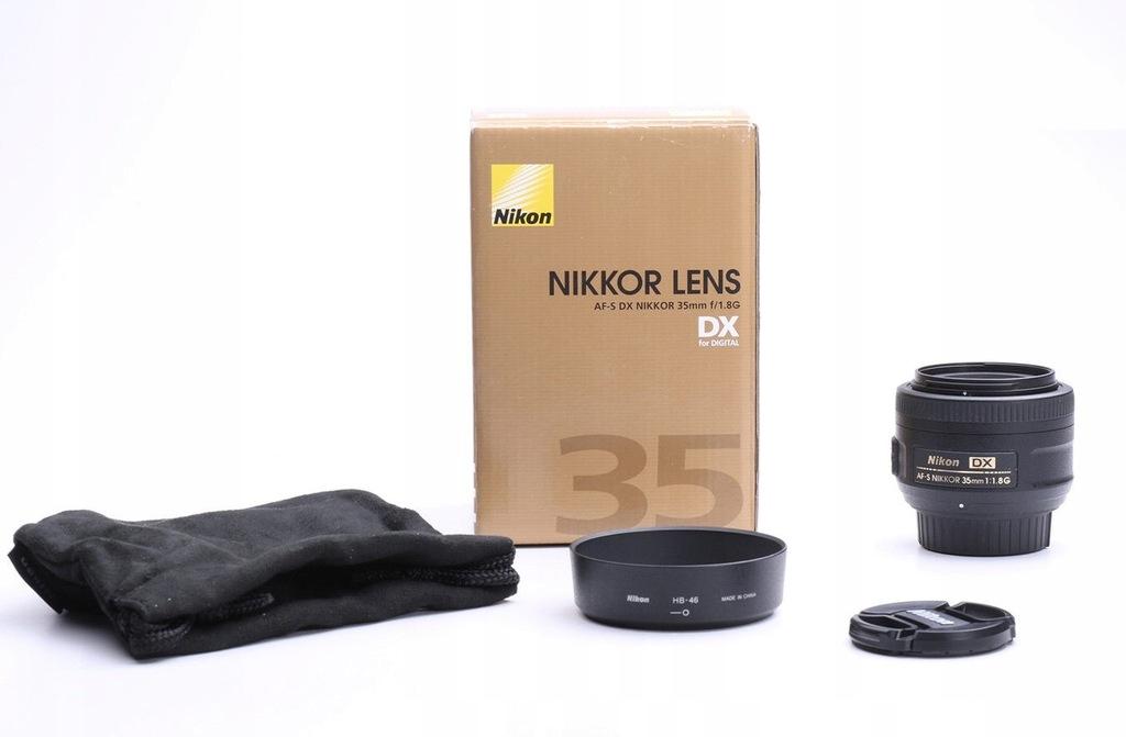 Nikon Nikkor AF-S DX 35 mm f/1.8G - Faktura