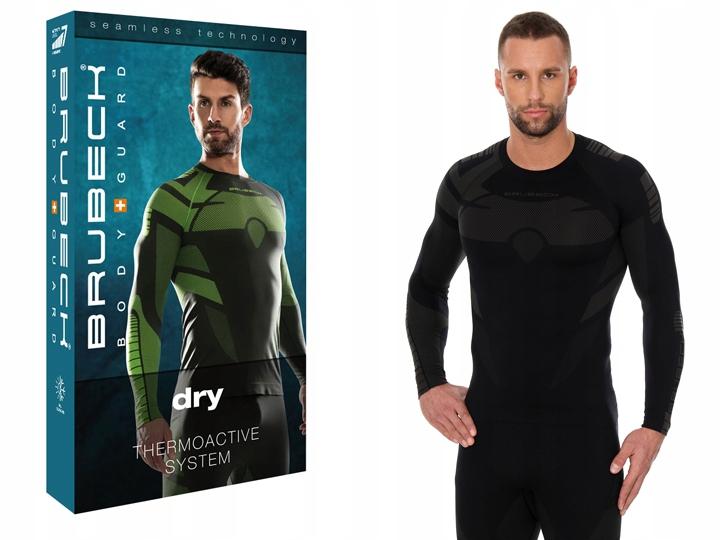 Brubeck DRY męska koszulka termoaktywna Dł. ręk S