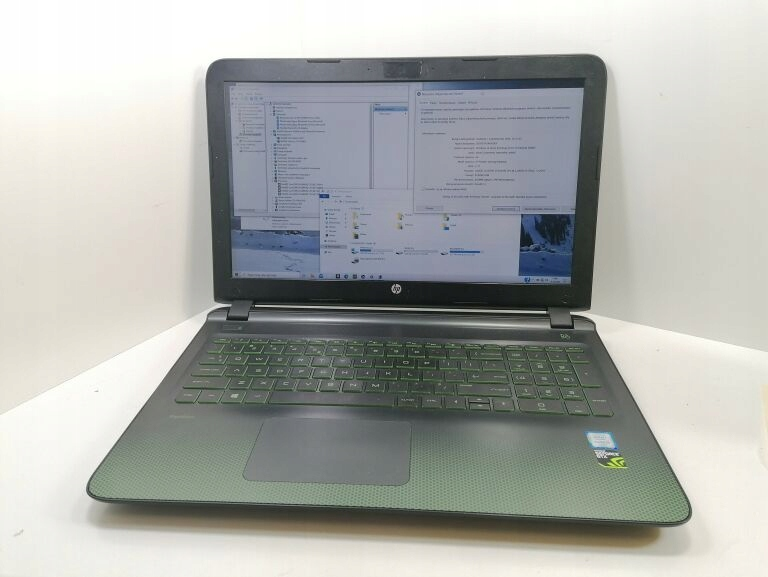 LAPTOP HP GAMING PAVILON 15-CX0073NW